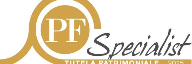 PFSpecialist Oro nella Categoria Tutela del patrimonio